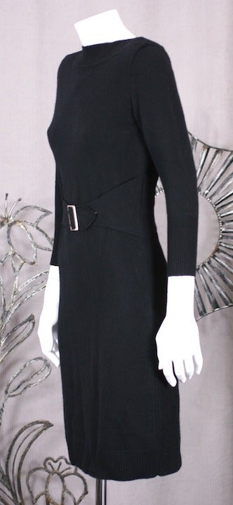 Chanel Cashmere Buckle Dress 3