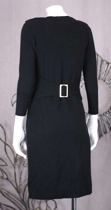 Chanel Cashmere Buckle Dress 4