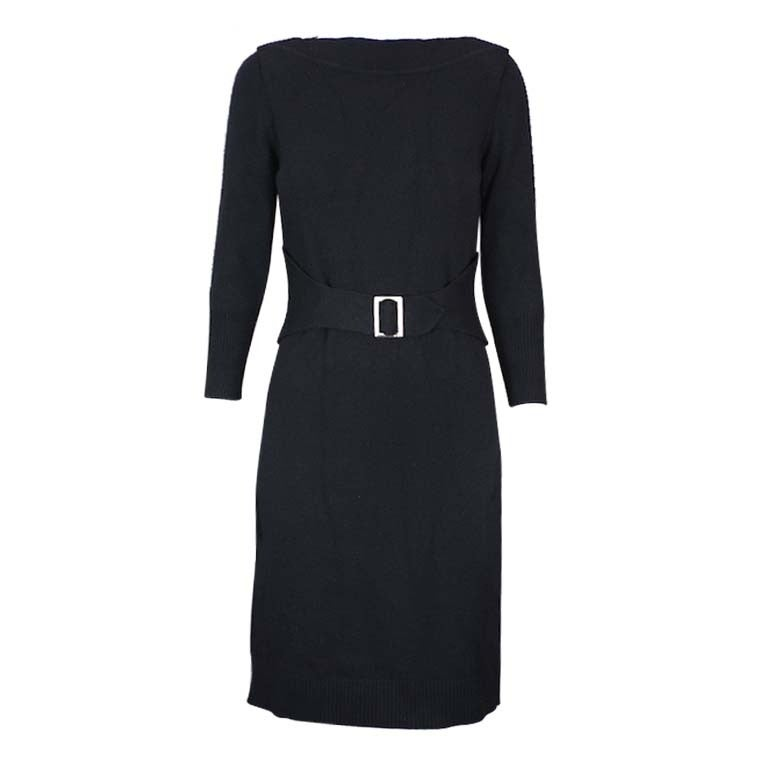 Chanel Cashmere Buckle Dress 1