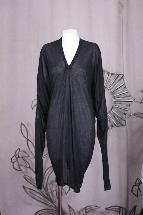 Women's Gareth Pugh Back Draped Jersey For Sale