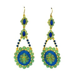 Eugenie Poured Glass Earrings.MWLC