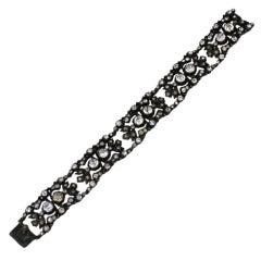 Late Victorian Paste Bracelet