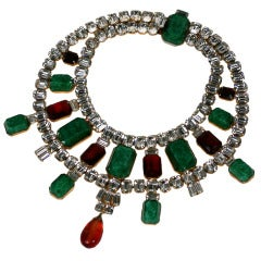 Scassi Jeweled Collar