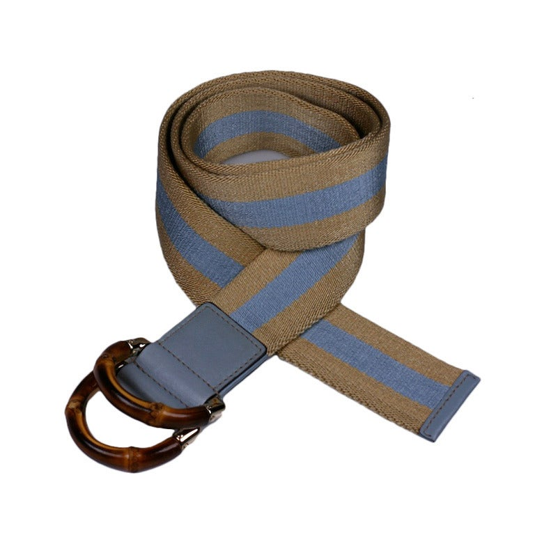 Gucci Bamboo Buckle webbing Belt