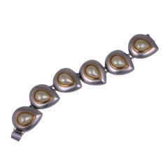 Yves Saint Laurent Pearl Bracelet