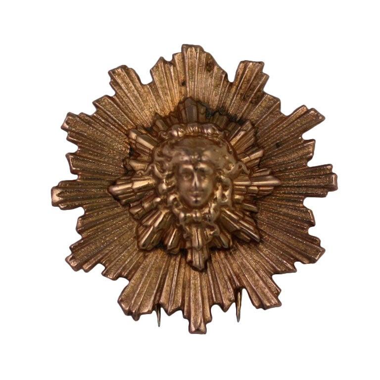 Hermes Apollo 'Sun King' Clip Brooch