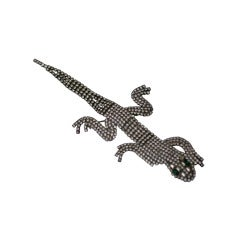 Articulated Lizard Brooch