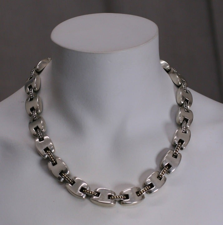 Women's Elegant Lagos Caviar Necklace For Sale