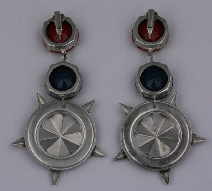 Nautical Star Earrings In Excellent Condition For Sale In Riverdale, NY