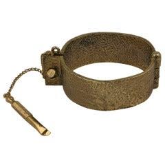 Hand Cuff Bracelet with Key
