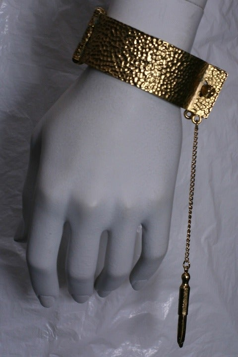 Women's Hand Cuff Bracelet with Key For Sale
