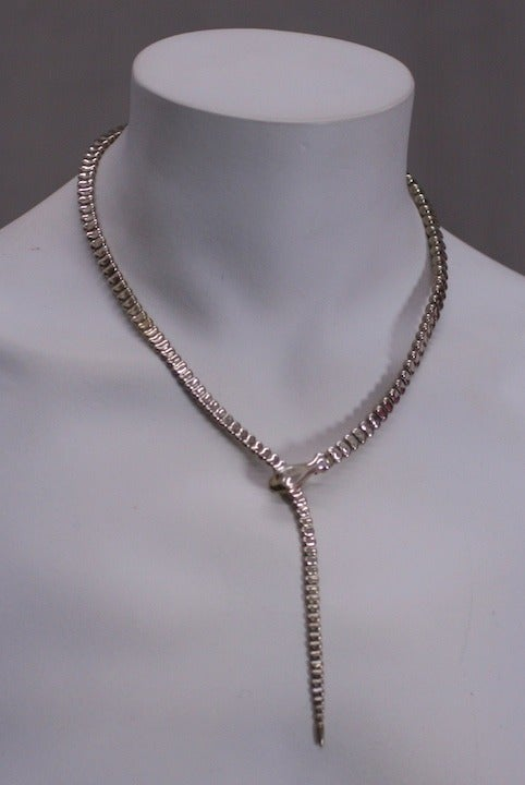 Early Elsa Peretti Snake Necklace At 1stdibs