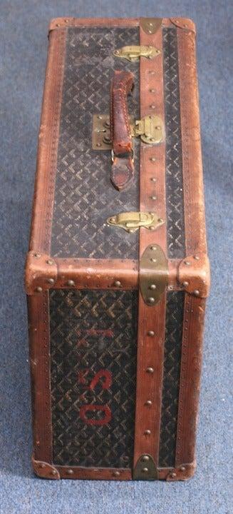 Early Maison Goyard Suitcase For Sale 1