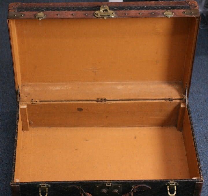 Early Maison Goyard Suitcase For Sale 3
