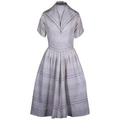 Claire McCardell Cotton Faille Dress
