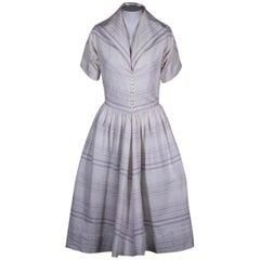 Claire McCardell Cotton Faille Dress