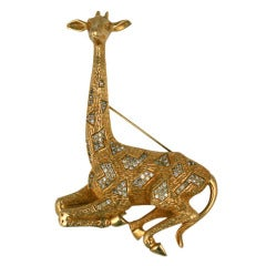 Nettie Rosenstein Seated Giraffe