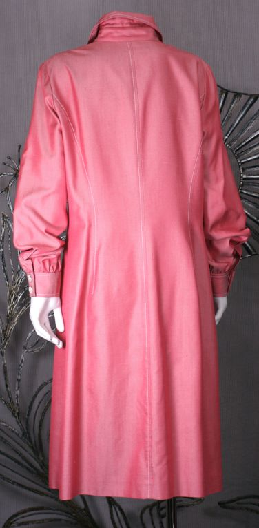 Carolina Herrera Silk Twill Shirtdress 4