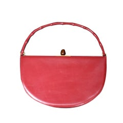 Amazing Red Sculptural Bag