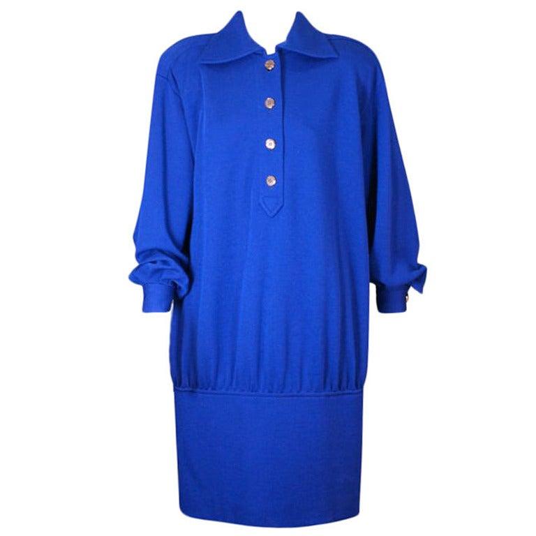 YSL Jersey Tunic Dress