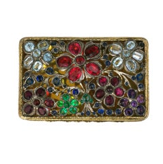 Gem Encrusted Box, 19th Century