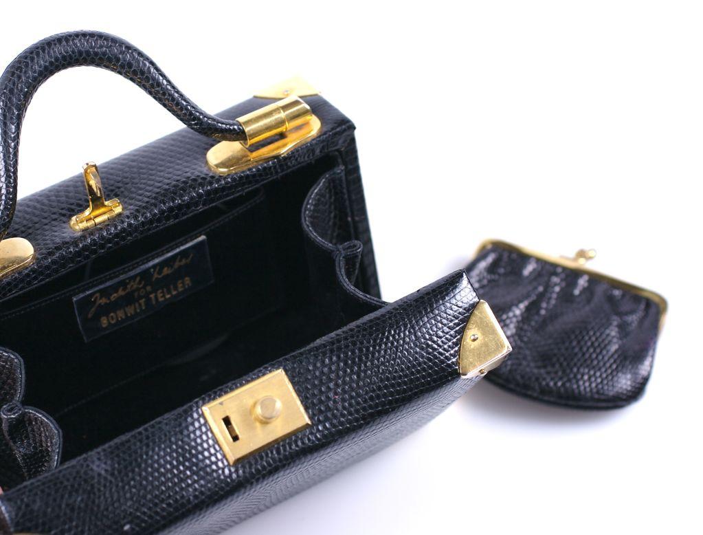 Judith Leiber Snake Mini Suitcase 3