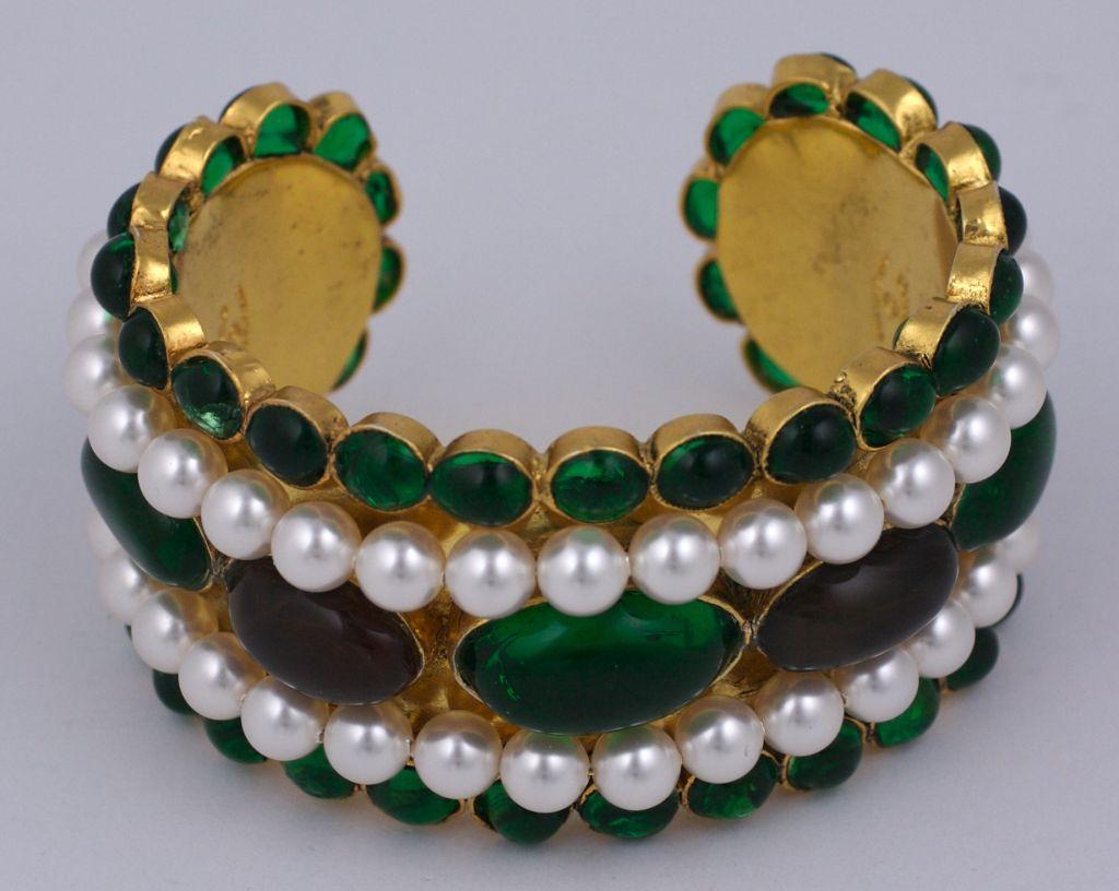 Chanel Moghul Cuff Bracelet 2