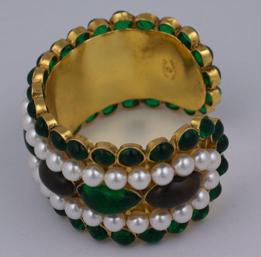 Chanel Moghul Cuff Bracelet 3