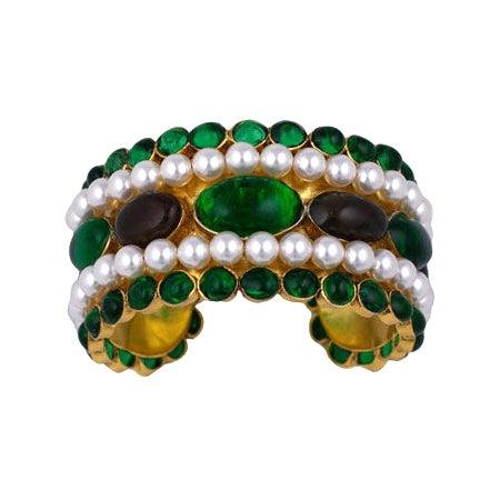 Chanel Moghul Cuff Bracelet 1