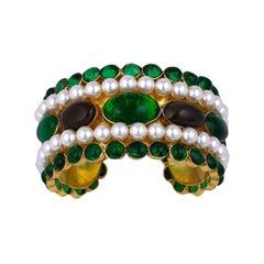 Chanel Moghul Cuff Bracelet