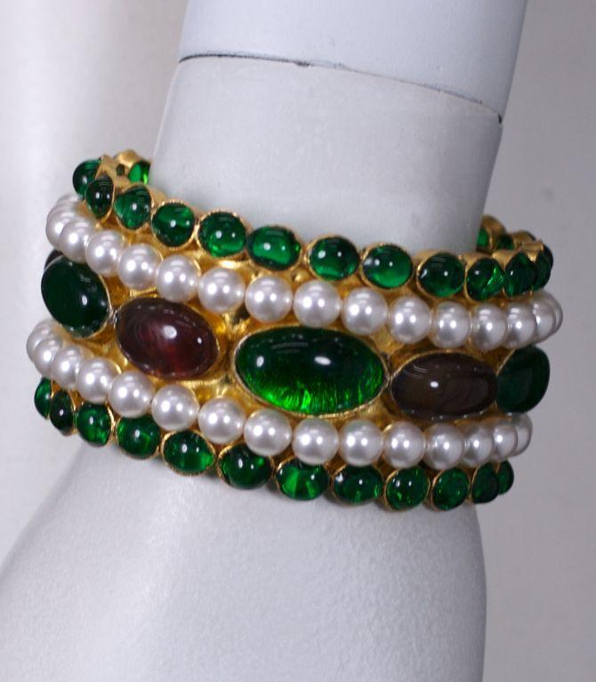 Chanel Moghul Cuff Bracelet 5