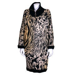Leonard Jersey Tiger Print Tunic