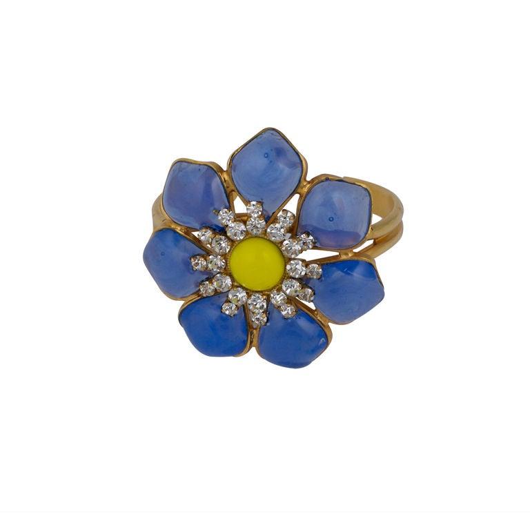 MWLC Opaline Blue Marguerite Cuff 1
