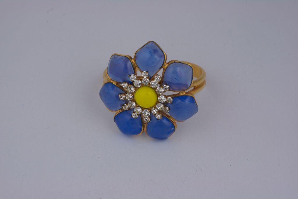 MWLC Opaline Blue Marguerite Cuff 5