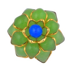 MWLC Poured Glass Zinnia Ring