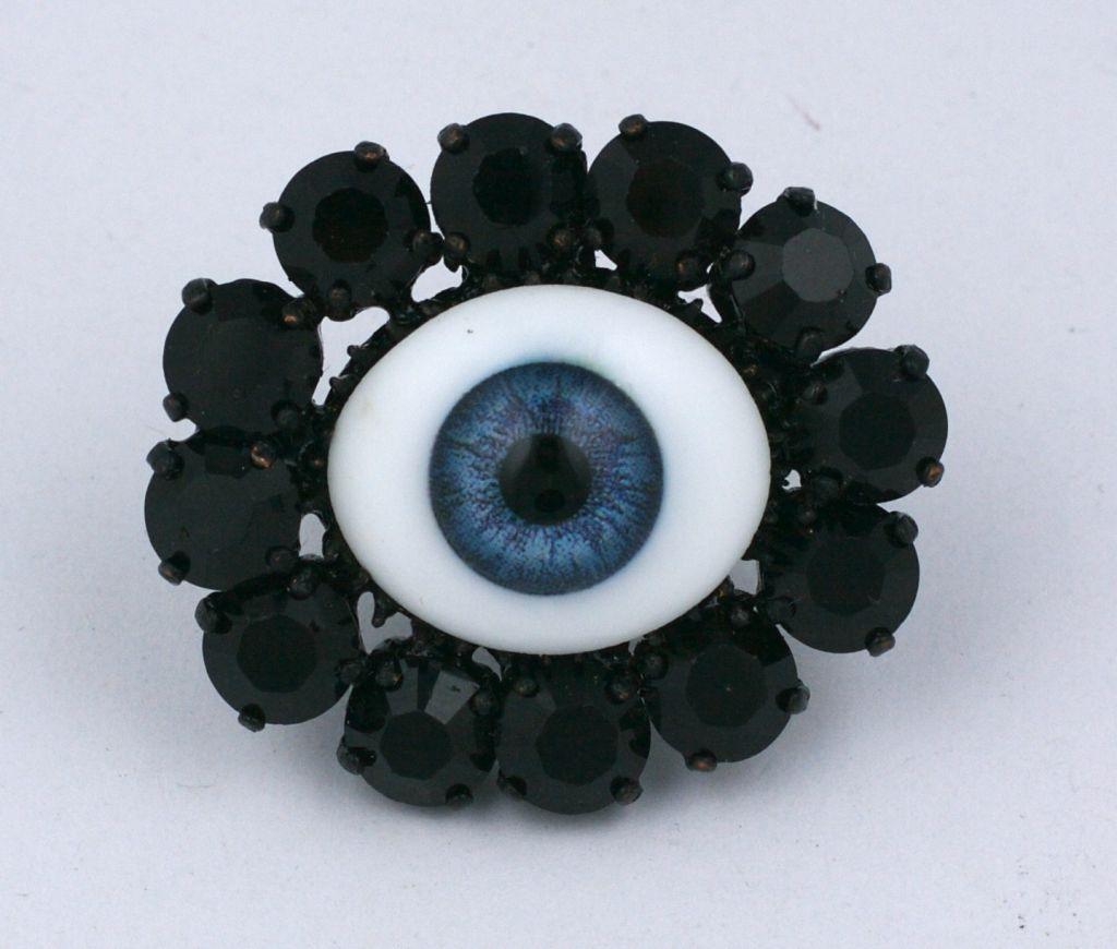 """Women's Rodarte Blue """"Eye"""" Ring For Sale"""