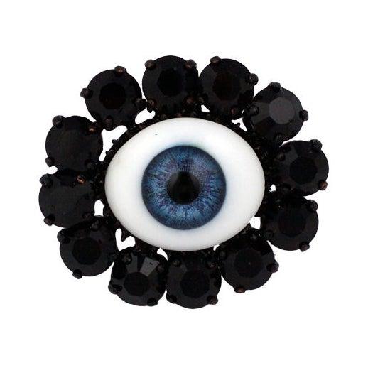 """Rodarte Blue """"Eye"""" Ring For Sale"""