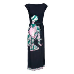 Amusing Jo Copeland  Elephant Evening Dress