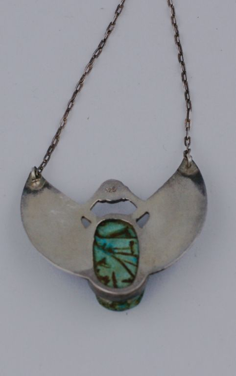 egyptian scarab necklace - photo #23