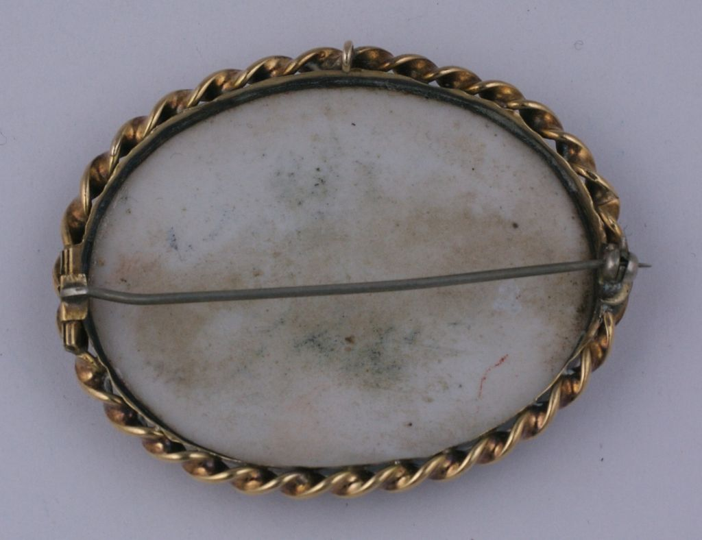 Victorian Cherub Brooch, 1880s 2