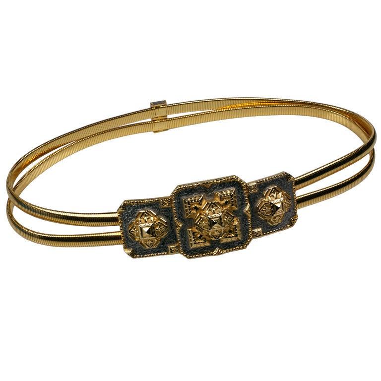 Cool Snake Chain Stretch Belt, Accessocraft