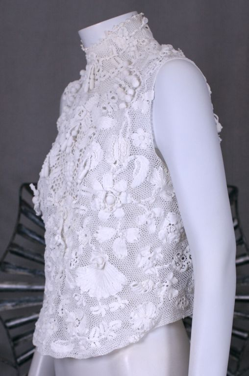 Turn of the Century Irish Crochet Blouse 2