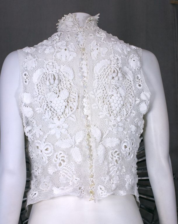 Turn of the Century Irish Crochet Blouse 3