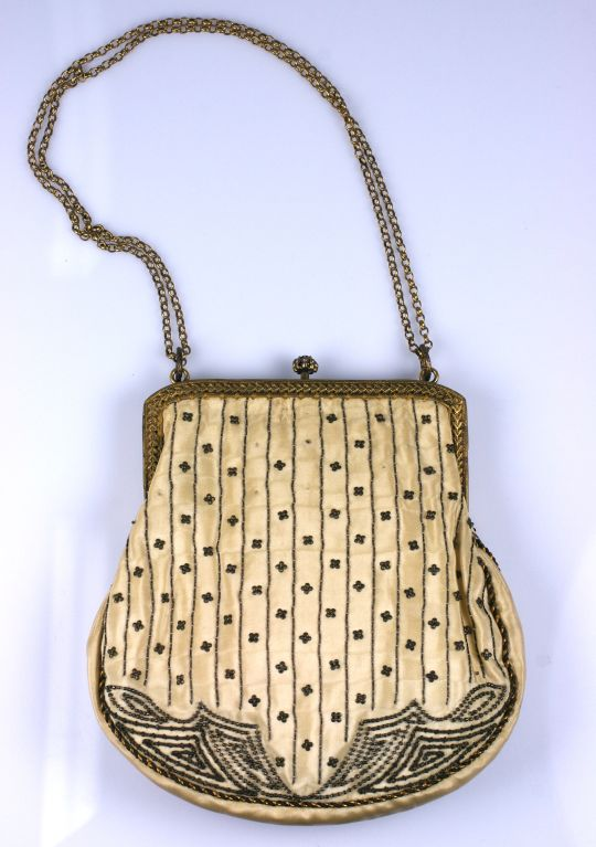 Eygptian Revival Deco Purse, 1920's 2