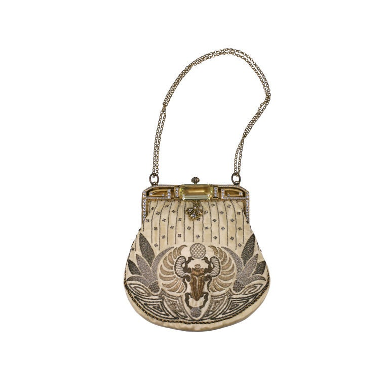 Eygptian Revival Deco Purse, 1920's 1