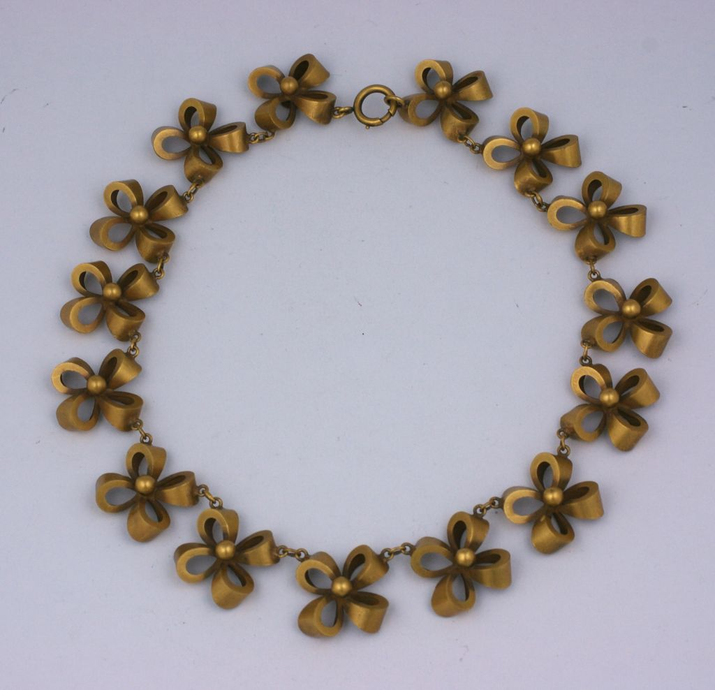 Joseff of Hollywood Retro  Bow Knot Necklace 3