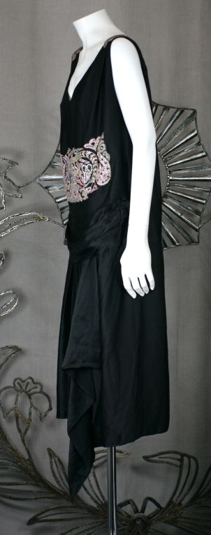 Agnes Haute Couture Beaded and Diamante 1920s Dress 5