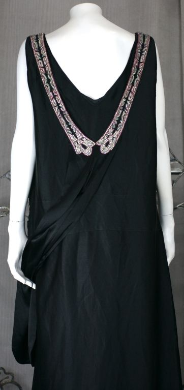 Agnes Haute Couture Beaded and Diamante 1920s Dress 8