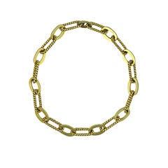 Elegant Hermes Style Link Necklace by Grosse