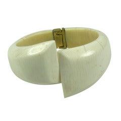 Ivory Crossover Cuff